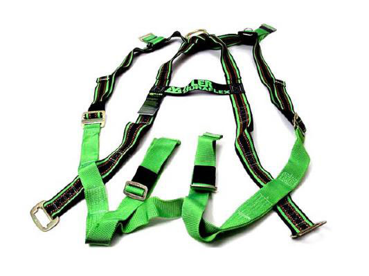 how to make a safety harness from webbing